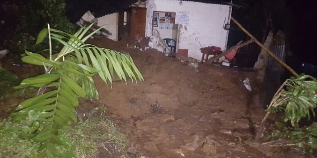 Vecino muere por un deslizamiento de tierra en Quetzaltenango