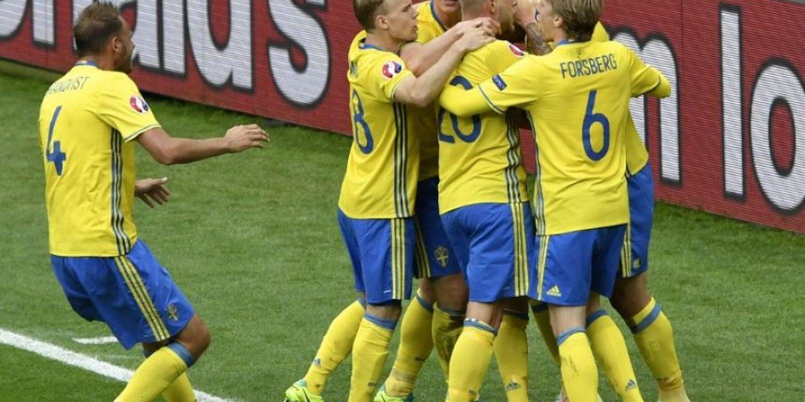 Un punto quedó para los irlandeses y los suecos luego de la jornada del lunes.. Foto:AFP
