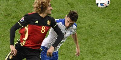 Italia no le dio oportunidad a los belgas en el primer partido de ambos en la Euro 2016. Foto:AFP