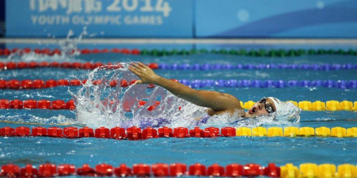 La nadadora guatemalteca que superó a una medallista olímpica