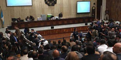 Así se desarrolla la audiencia de primera declaración del caso #CooptacionEstadoGT
