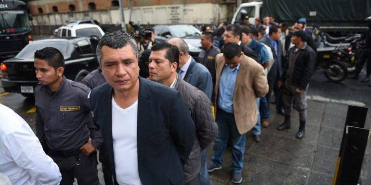 Señalados en caso #CooptacionEstadoGT llegan a Torre de Tribunales