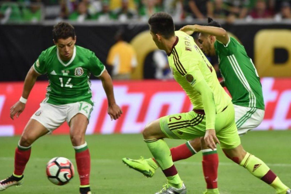 México se topó contra una voluntariosa Vinotinto con la que compartió un punto. Foto:AFP