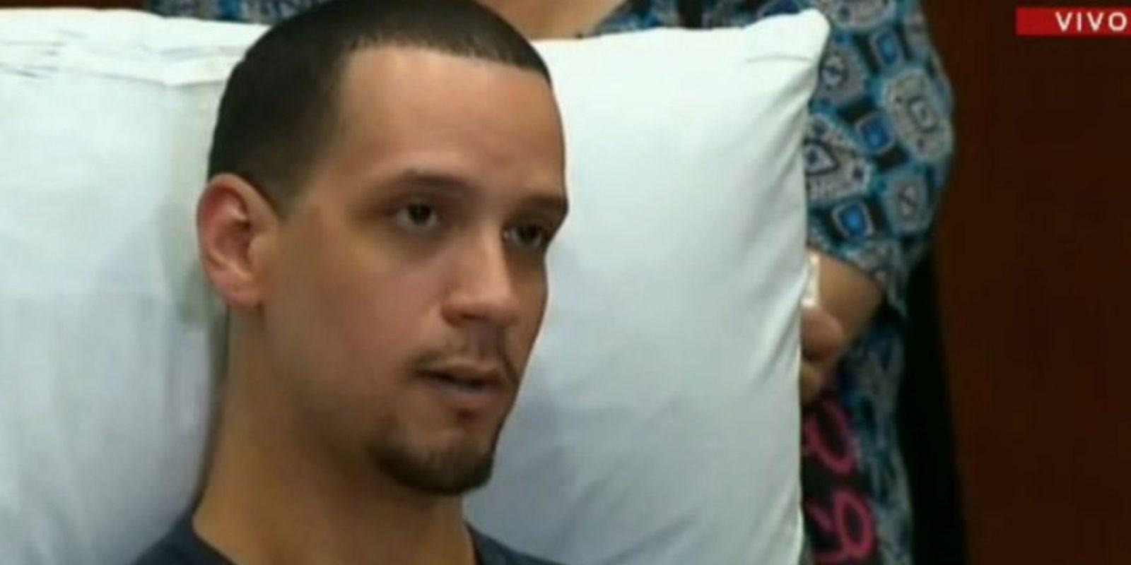 Ángel Santiago contó cómo sobrevivió en el ataque. Foto:CNN