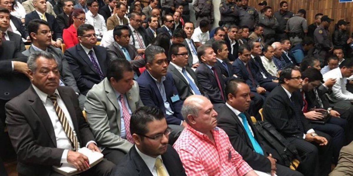 La Sala de Vistas estuvo llena en el segundo día de audiencia de primera declaración del caso