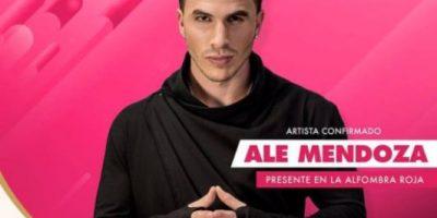 Ale Mendoza es uno de los invitados especiales a los Premios Heat Latin Music Awards