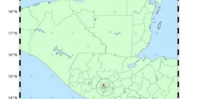 Temblor en Guatemala, hoy 14 de junio de 2016