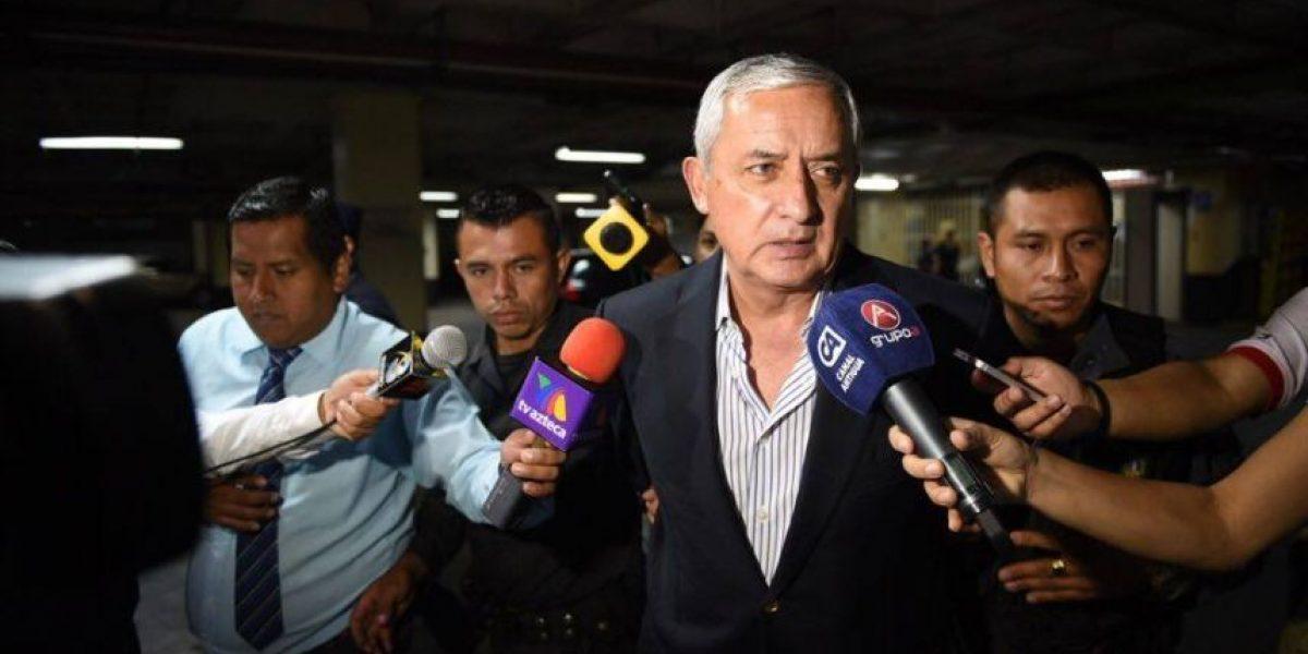 Pérez Molina, señalado de corrupción, dice que las cárceles están en mal estado por falta de recursos