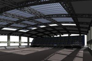 La construcción del complejo deportivo y comercial empezaría en el primer semestre de 2018, según Javier Arzú. Foto:Futeca