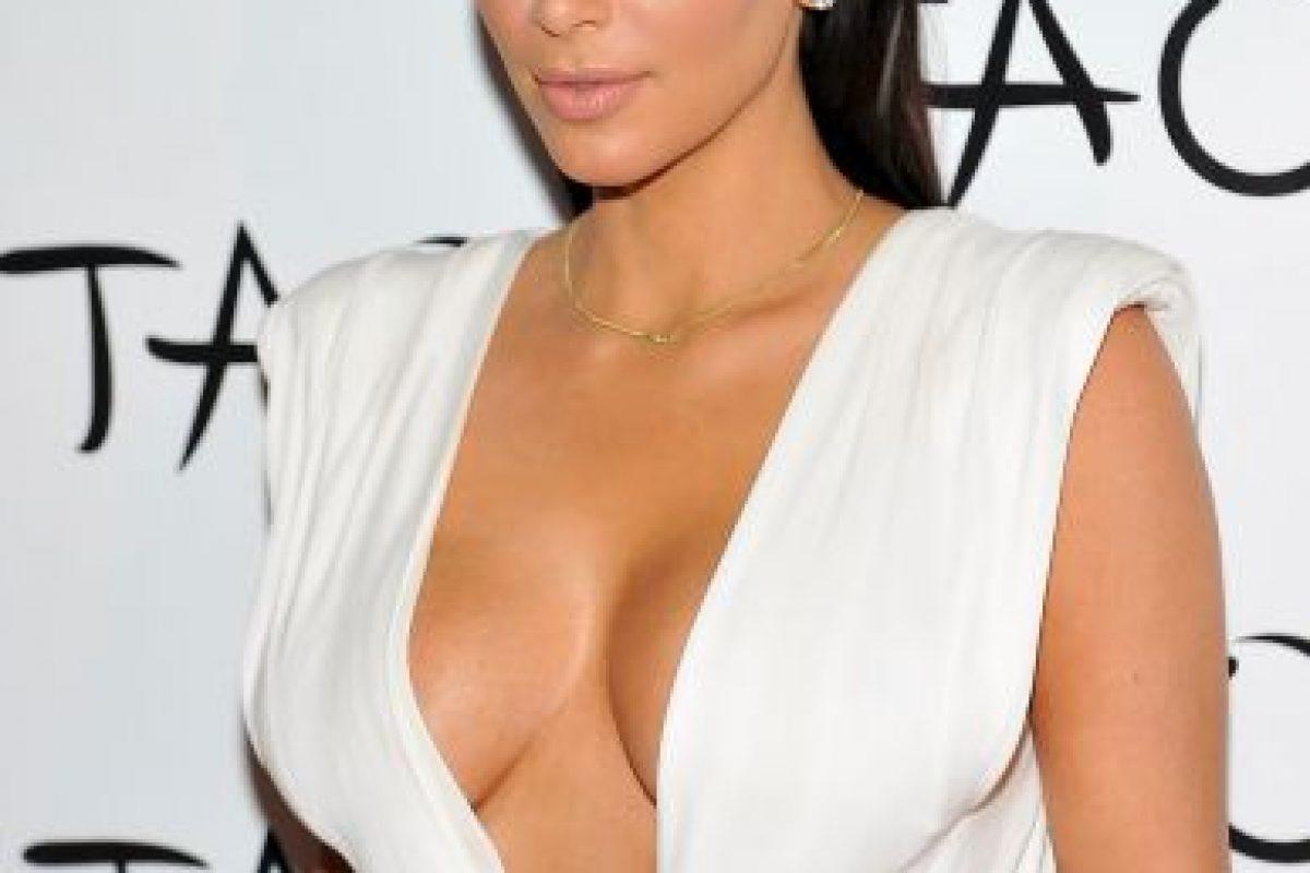 El estilo de Kim Kardashian y Amber Rose son muy similares. Foto:Getty Images