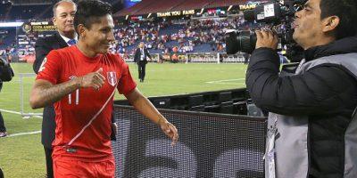 La derrota dejó fuera a Brasil y le dio la clasificación a Perú Foto:Getty Images