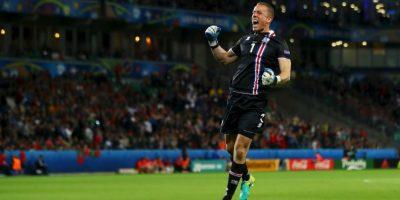 El gol del empate fue celebrada por todo Islandia Foto:Getty Images