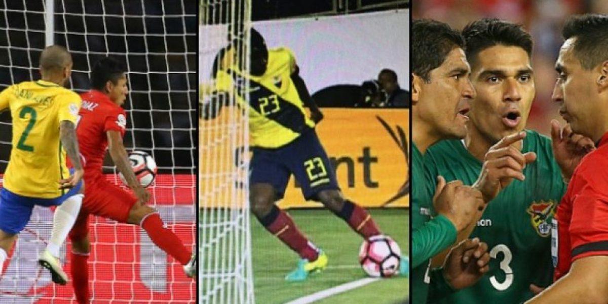 Las polémicas arbitrales que han marcado la Copa América