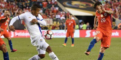 La Roja no falló en el momento clave y goleó a los panameños. Foto:AFP