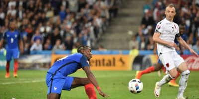 """Los """"bleus"""" suman seis puntos y están a la cabeza del grupo A del certamen. Foto:AFP"""