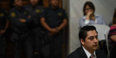 EN IMÁGENES. Mario Cano se mofa de las acusaciones del MP en su contra