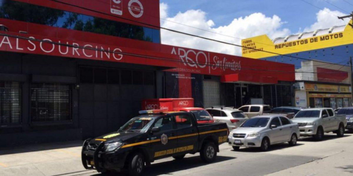 Allanan empresa ARQCO Outsourcing en busca de información