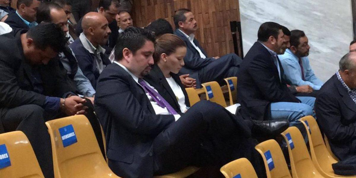 Daniela Beltranena se entregó, pero no perdió el glamur en Tribunales