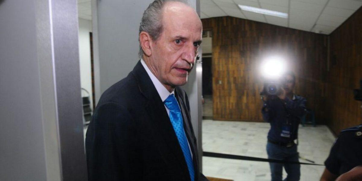 Flavio Montenegro, exgerente de banco, se pone a disposición del juzgado