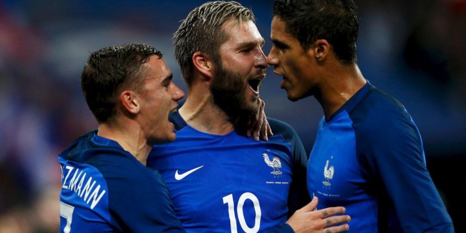 Francia vs. Albania Foto:Getty Images
