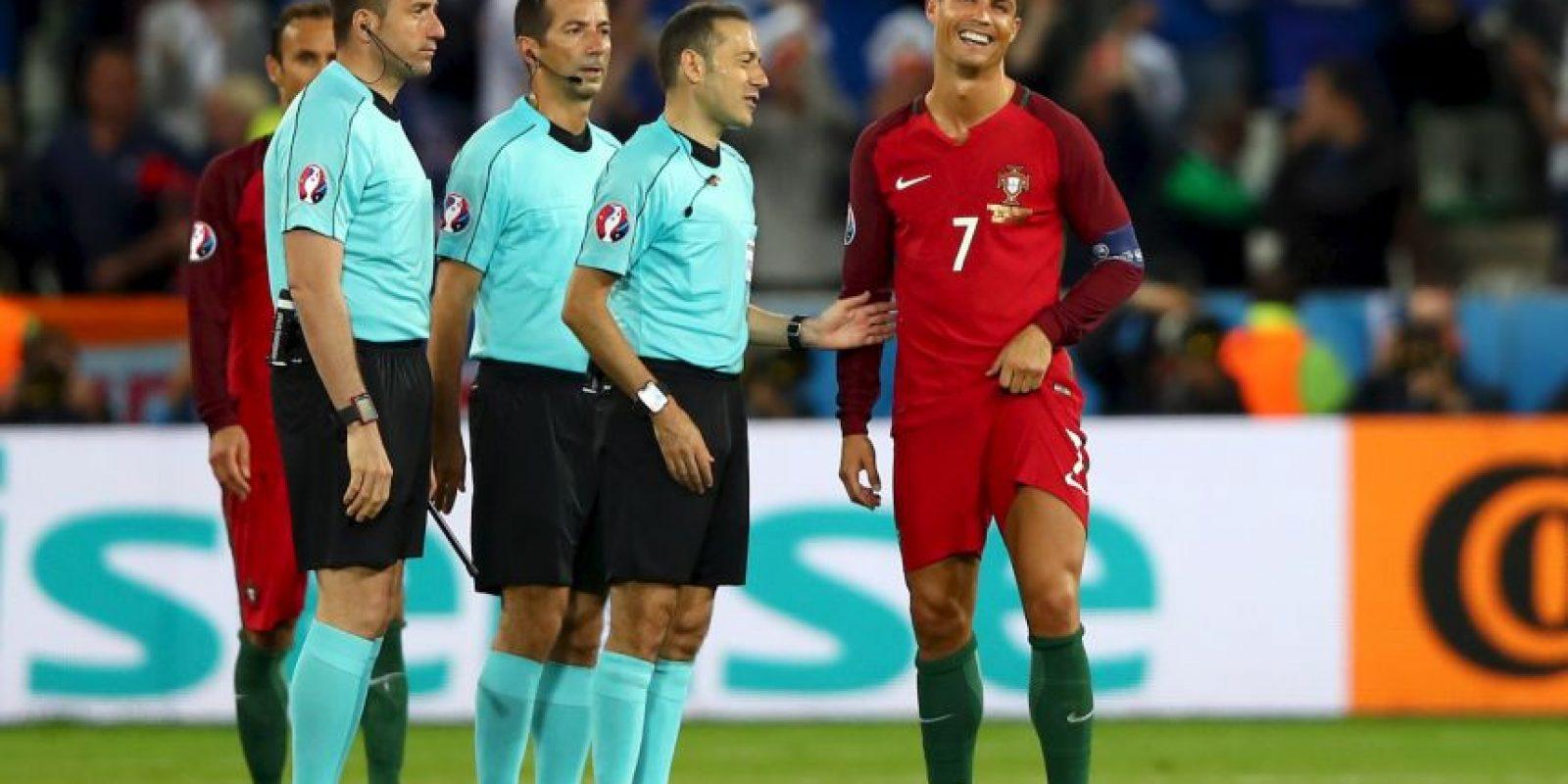 Cristiano Ronaldo no fue efectivo en el debut de Portugal ante Islandia Foto:Getty Images