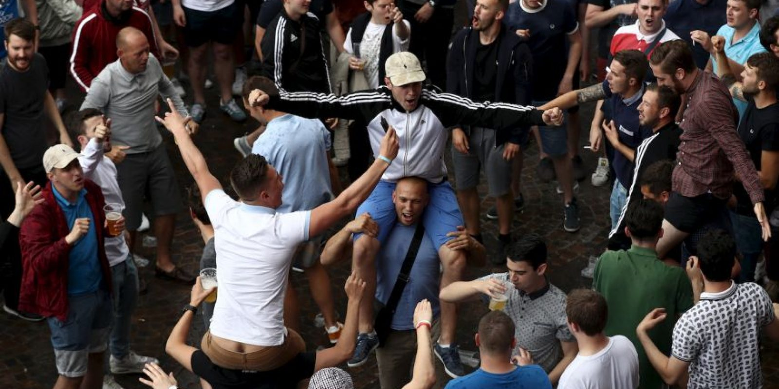 Ahora Lille está sufriendo los estragos de tener a los ingleses en la zona Foto:Getty Images