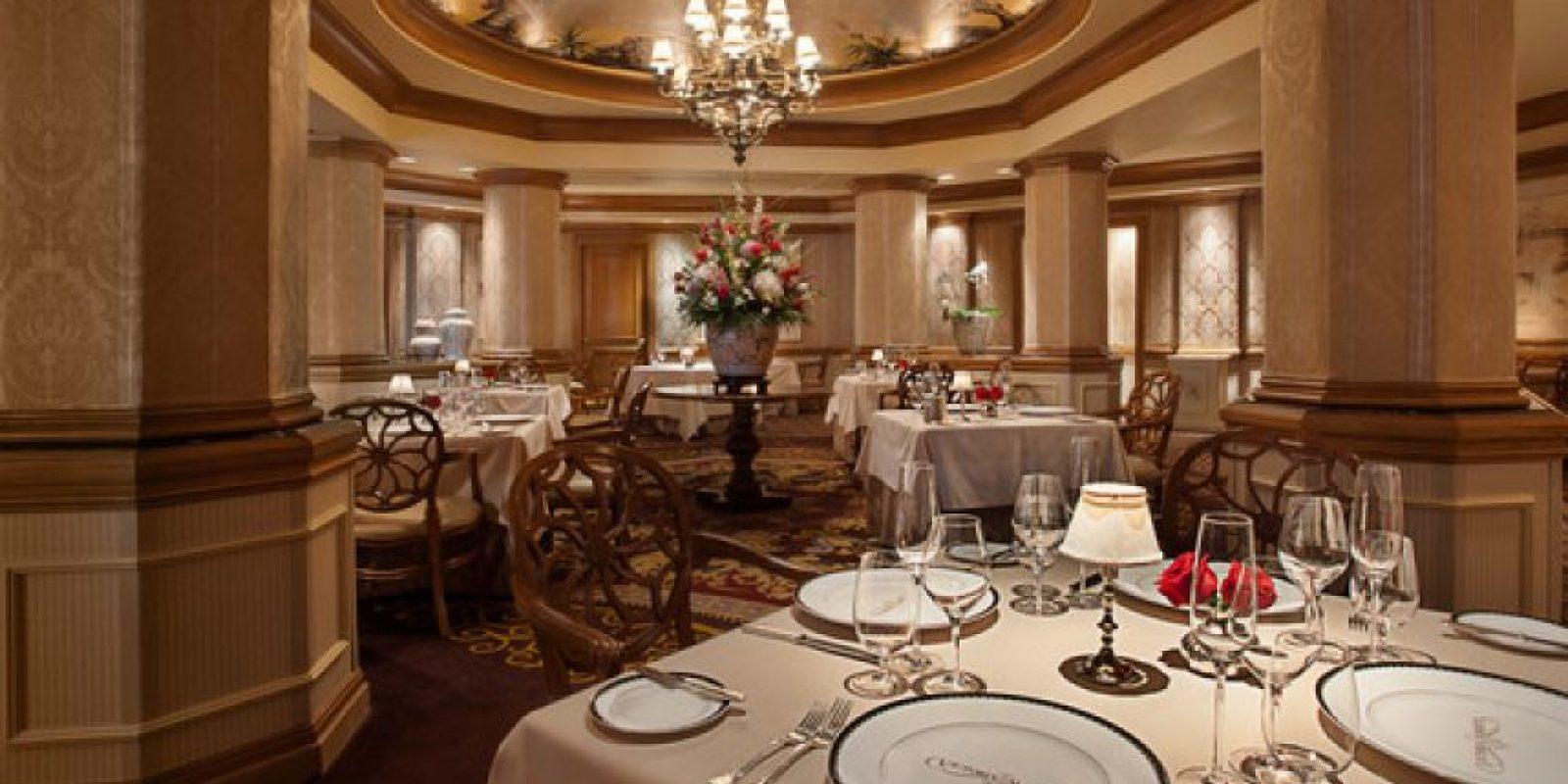 Este es el lujoso hotel Foto:Disneyworld.disney.go.com