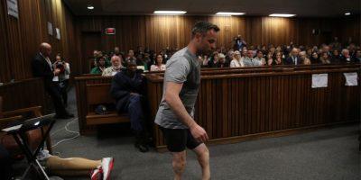 El drama de Pistorius en su juicio por asesinato