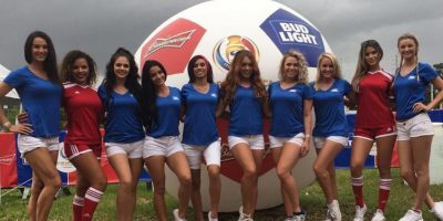 Las fanáticas más guapas de la fase de grupos de la Copa América Centenario 2016 Foto:Instagram