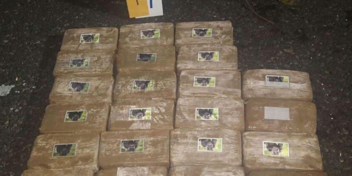 18 tulas con posible Cocaína son decomisadas por FEN