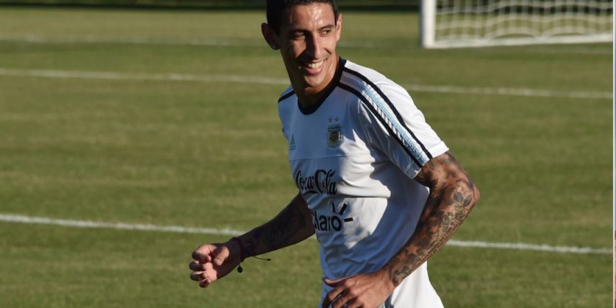 Argentina viaja a Boston y Di María lo presume en Instagram