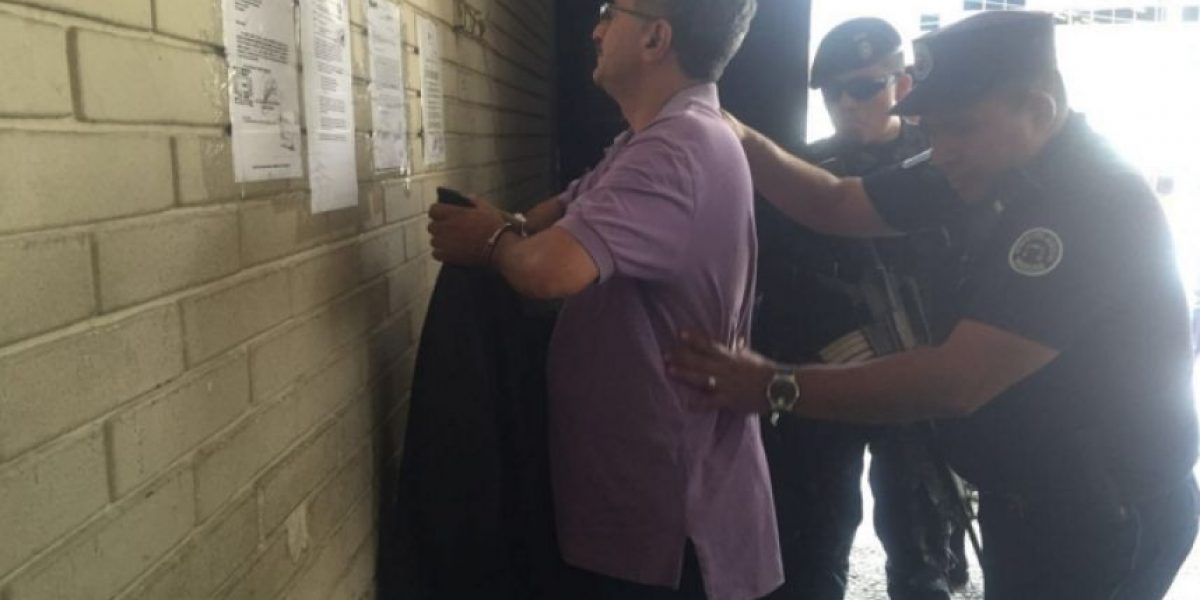 Capturan a trabajador del Congreso señalado de extorsión