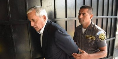"""Expresidente Pérez Molina: """"Quien más sufre en esto es la familia"""""""