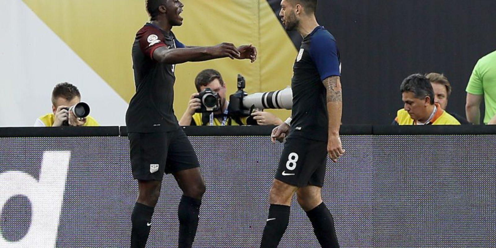 Estados Unidos tuvo un mal comienzo y cayó por 2 a 0 ante Colombia, pero se repuso y ahora sacó chapa de candidato para el título en su Copa Améria Foto:Getty Images