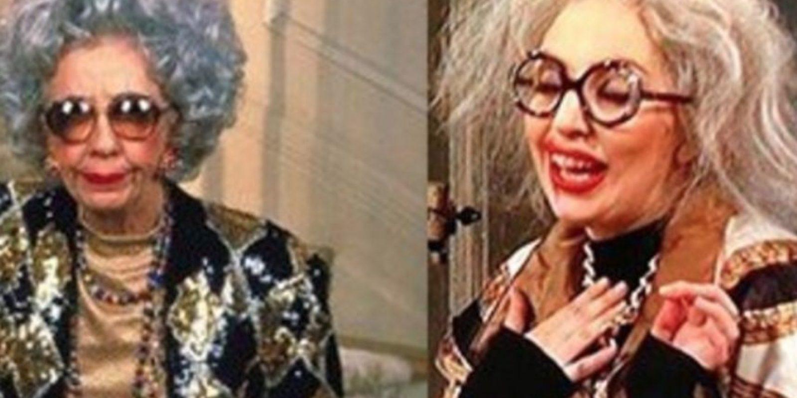 """""""Yetta"""" la consagró como ícono de moda. Foto:vía Tumblr/Nanny Reviewed"""