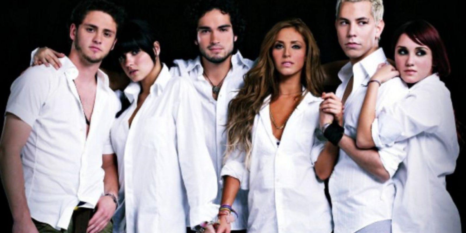 Maite Perroni formó parte de la agrupación Foto:Televisa