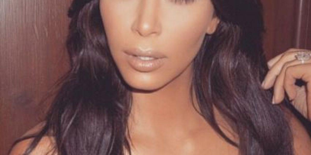Aparecen nuevas fotos de la sesión de Kim Kardashian para