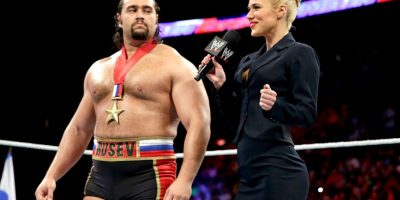 Rusev defiende el Campeonato de Estados Unidos Foto:WWE
