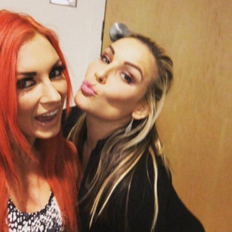 Se ven las caras con Becky Lynch y Natalya Foto:WWE