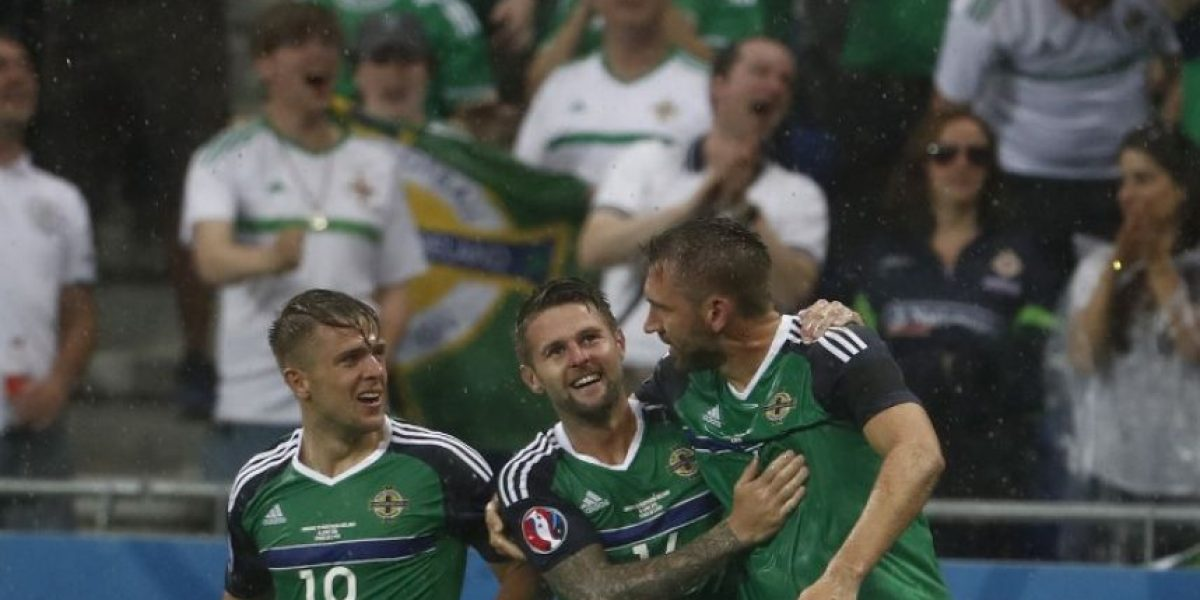 Irlanda del Norte da la sorpresa y derrota a Ucrania