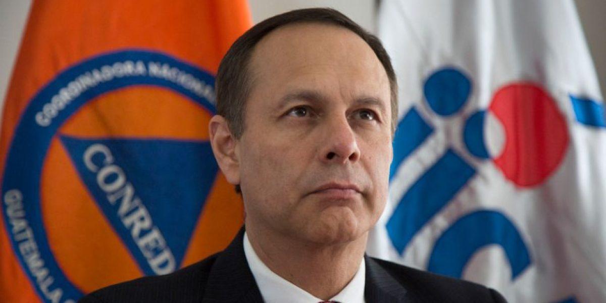 Piden la renuncia de Maldonado como secretario de la Conred