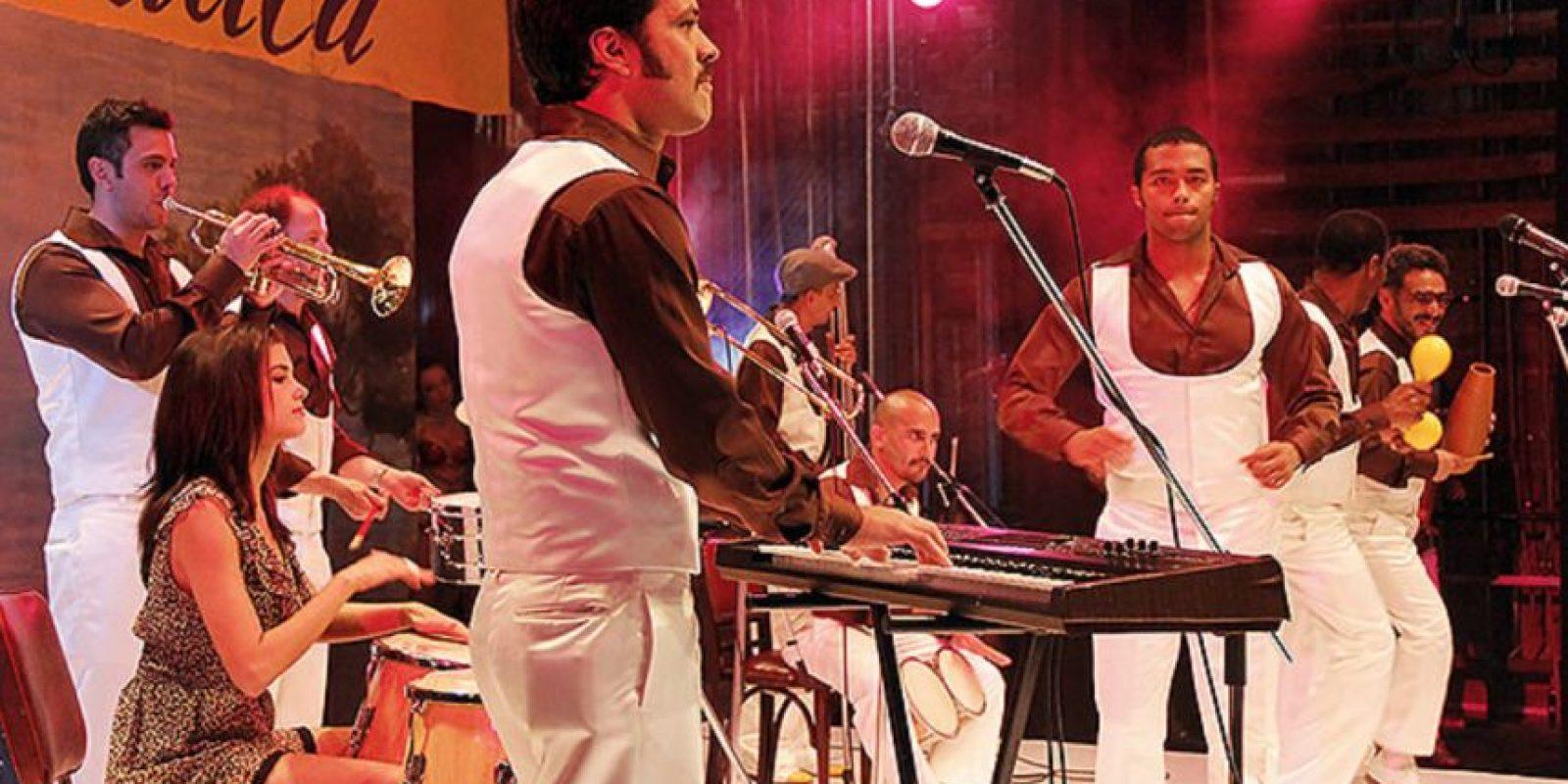 """""""La Orquesta"""" fue la telenovela del grupo colombiano de salsa """"Grupo Niche"""". Foto:Canal RCN"""