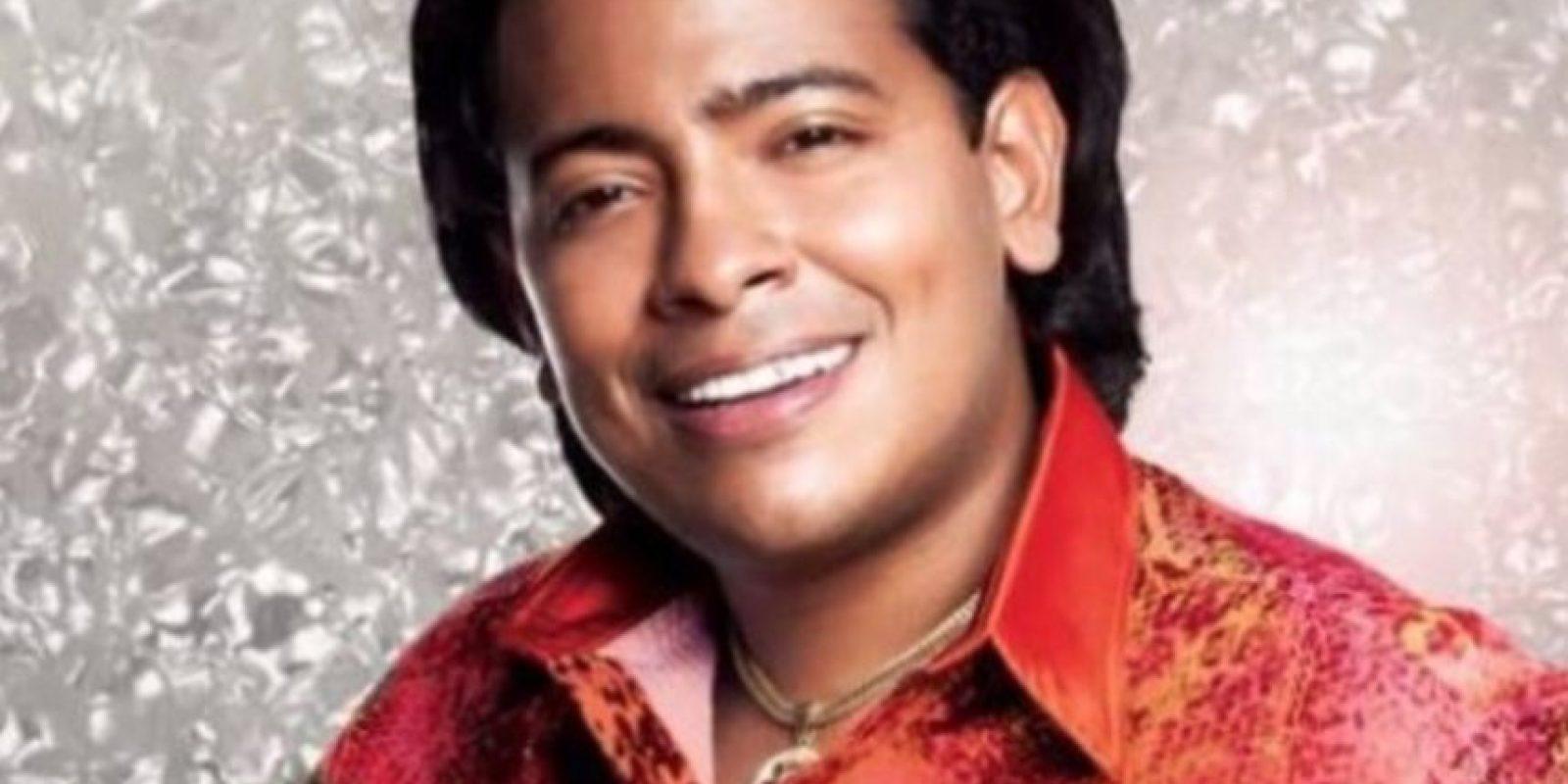 """Orlando Liñán interpretó al cantante colombiano Diomedes Díaz en """"Diomedes, el Cacique de la Junta"""". Foto:Canal RCN"""