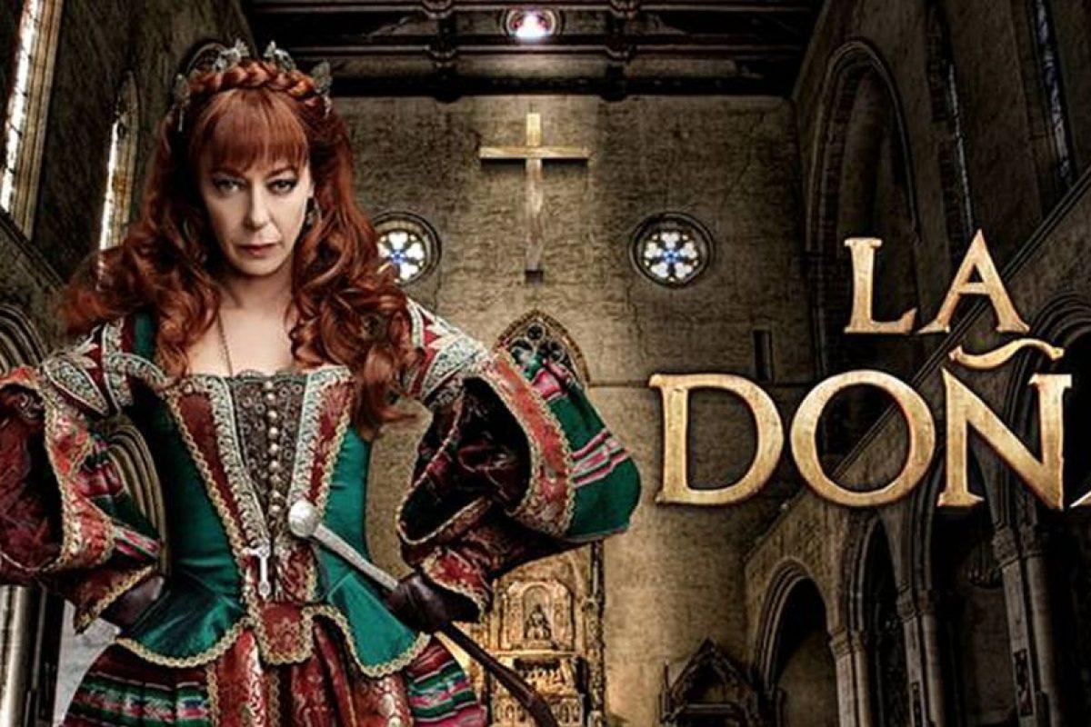 """Luego la personificó Claudia Di Girolamo en """"La Doña"""", en 2011. Foto:Chilevisión"""