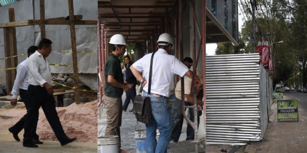 VIDEO. ¿Está o no permitido que las construcciones obstruyan el paso peatonal en la zona Viva?