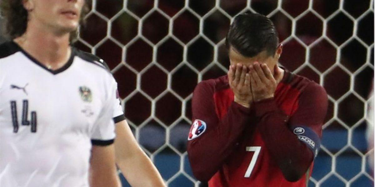 VIDEO. El drama de Cristiano Ronaldo y su fracaso ante Austria