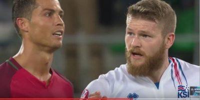Capitán de Islandia revela la verdad sobre el desprecio de Ronaldo