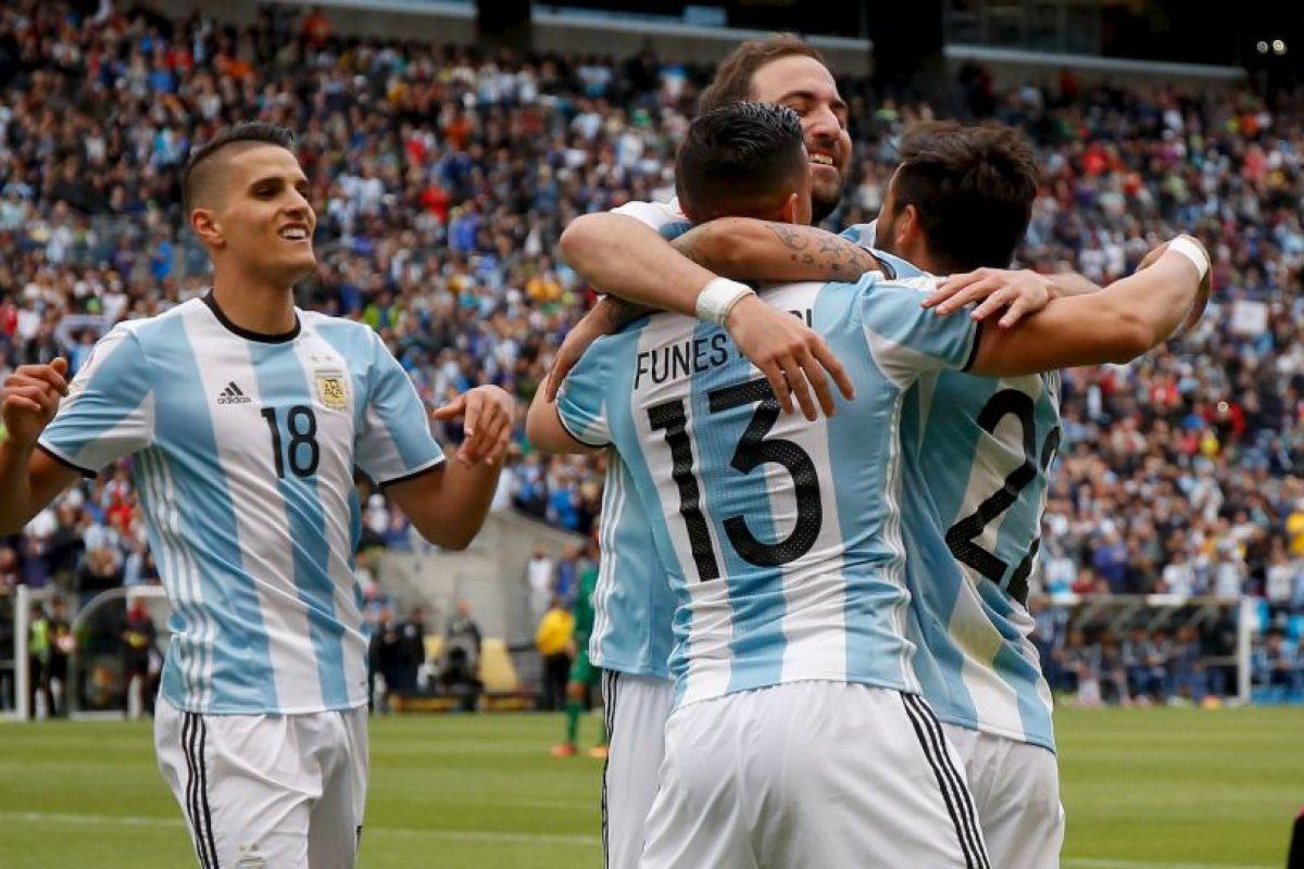 Argentina llega como favorita al partido con Venezuela Foto:Getty Images