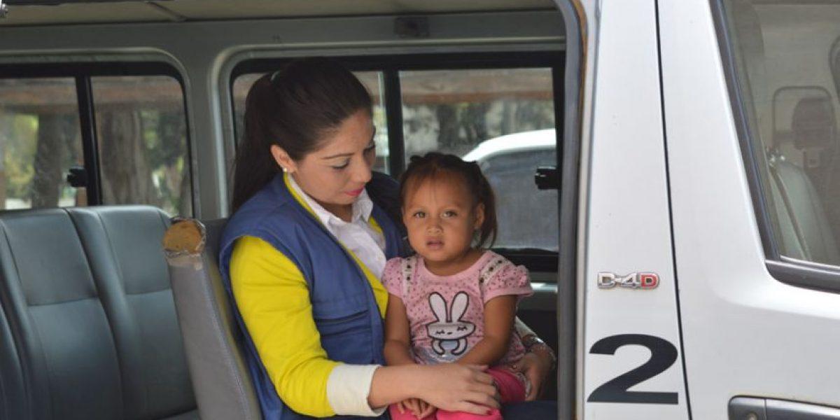 PGN envía a casa hogar a niña que caminaba sola en Las Américas