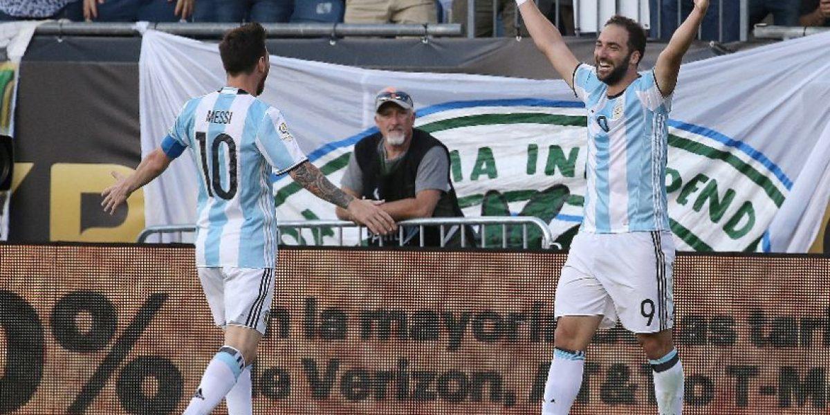 Argentina golea y va por Estados Unidos